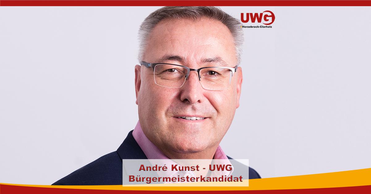 Bürgermeisterkandidat André Kunst
