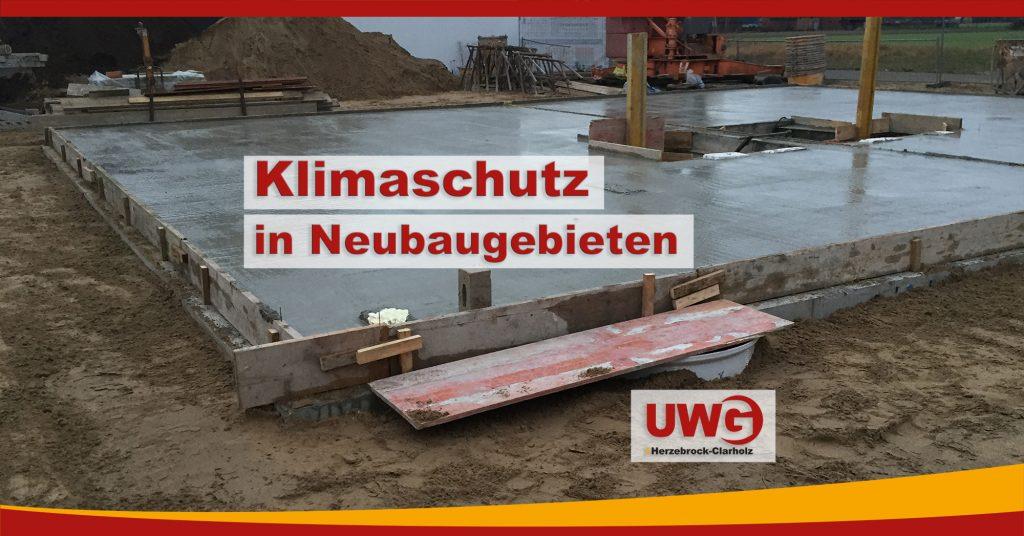 Klimaschutz in Neubaugebieten