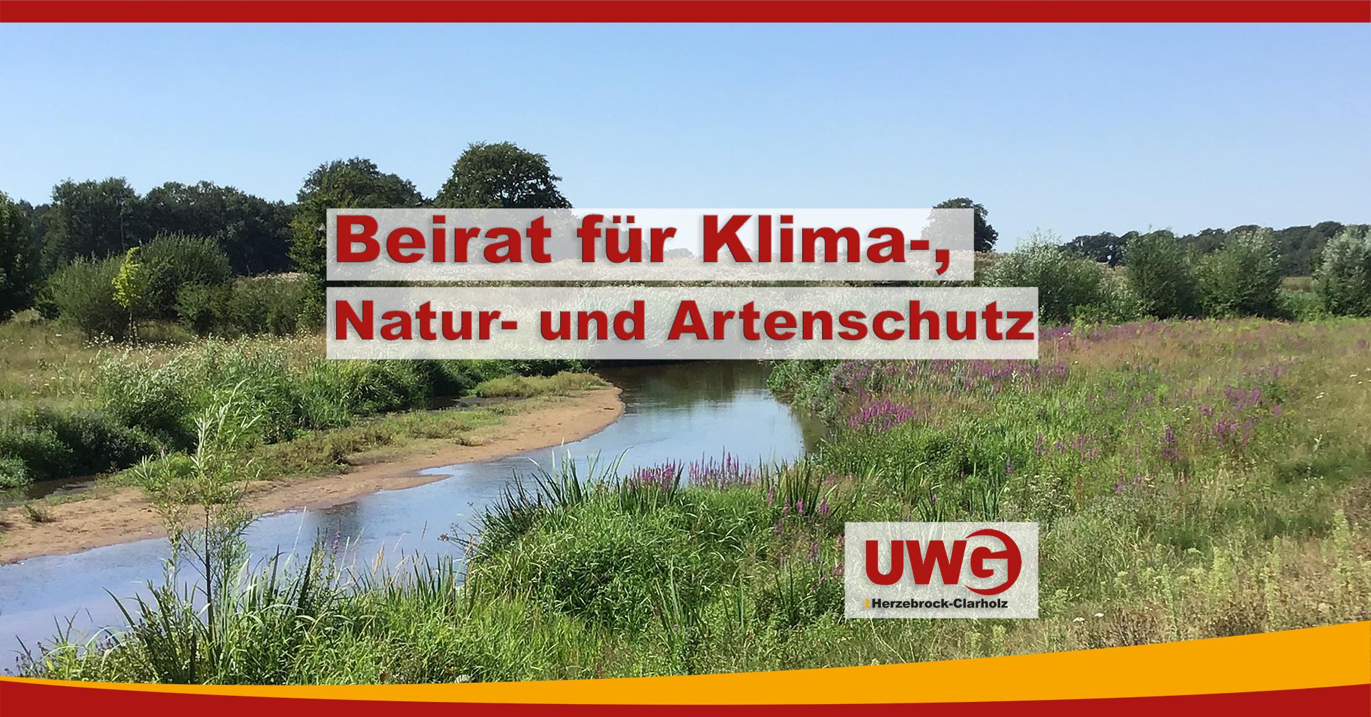 Klima-, Natur- und Artenschutzbeirat für Herzebrock-Clarholz